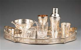 Group of Antique and Vintage Barware