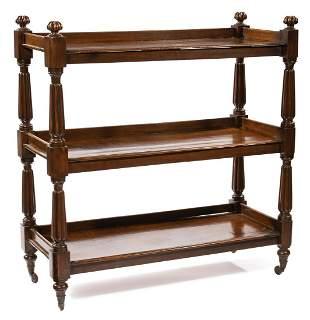 Antique William IV Oak Trolley