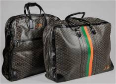 Two Goyard Travel Bags