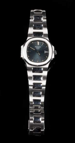 Patek Phillipe Stainless Steel Lady's Wristwatch