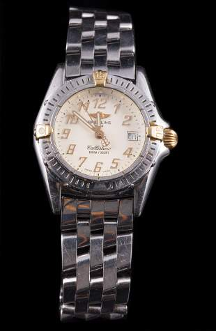 Breitling Stainless Steel and 18 kt. Gold Watch