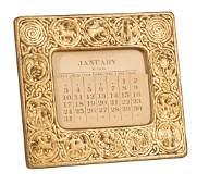 Tiffany Studios Gilt Bronze Desk Calendar