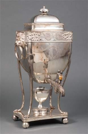 Parker & Co. Sheffield Plate Hot Water Urn