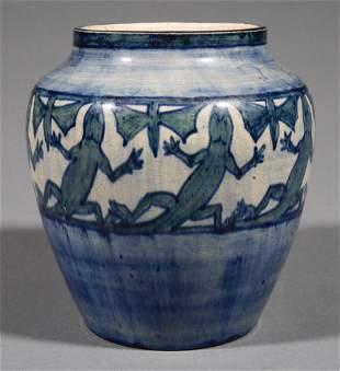 Newcomb College Art Pottery High-Glaze Vase