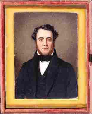 Miniature Portrait of Dr. Octavius Trezevant