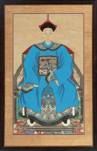 Chinese School, Qing Dynasty/19th c