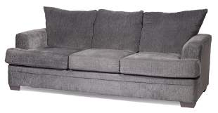 Blue Transitional Sofa