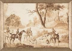 Attributed to James Seymour (British, 1702-1752)