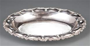 Mexican Sterling Silver Serving Dish