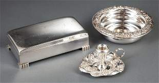 American Sterling Silver Presentation Box