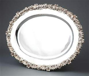 American Sterling Silver Oval Platter