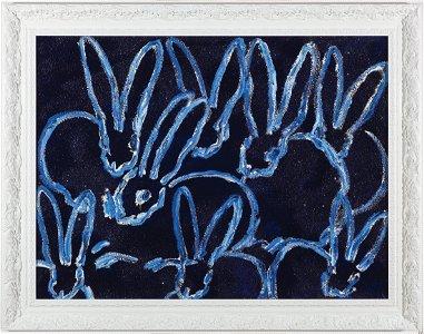 Hunt Slonem Bunnies