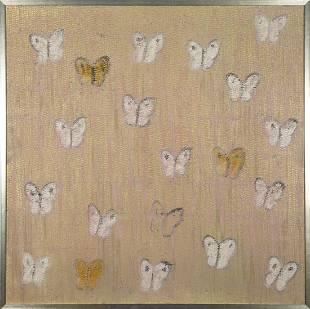 Hunt Slonem Butterflies