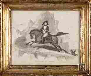Antique Print of Napoleon
