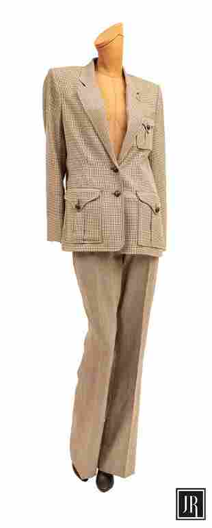 Yves Saint Laurent 2 Piece Pants Suit