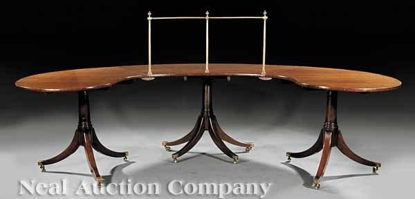0022: Edwardian Mahogany Hunt Table