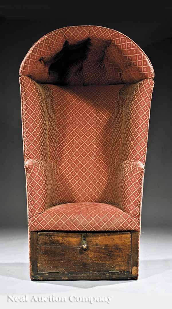 0659: English Porter's Chair