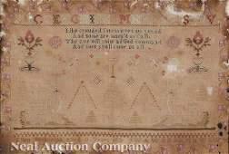 0687: Regency Needlework Sampler