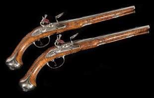 Flintlock Holster Pistols by Fonvielhe a Zel