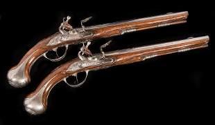 Dutch 16-Bore Flintlock Holster Pistols