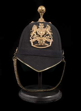 Royal Artillery Blue Cloth Helmet