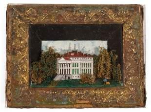 Miniature Diorama of Manor House