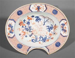 Chinese Export Imari Porcelain Barber's Basin