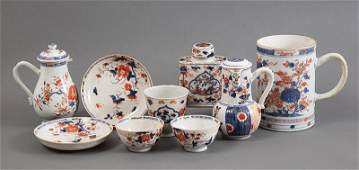 Chinese Export Imari Porcelain Tea Wares