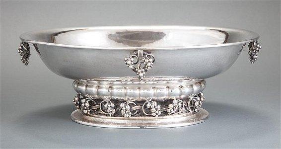 Georg Jensen Sterling Silver Centerpiece Bowl