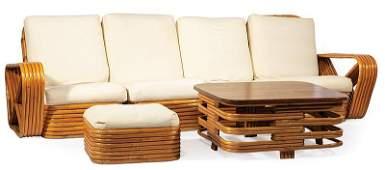 Three-Piece Paul Frankl Furniture Suite