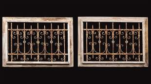New Orleans Wrought Iron Window Grilles