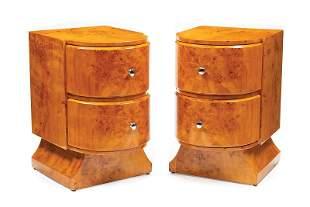 Pair of Art Deco-Style Nightstands