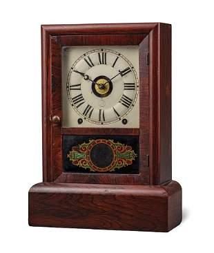 Seth Thomas Mahogany Eight-Day Shelf Clock