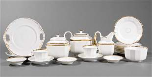 Paris  Porcelain Tea and Dessert Service
