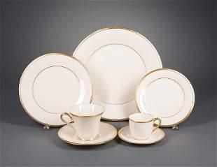 """Lenox """"Eternal"""" Porcelain Dinner Service"""