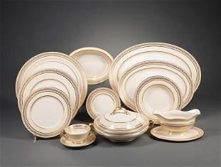 """Lenox """"Malmaison Ivory"""" Porcelain Dinner Service"""