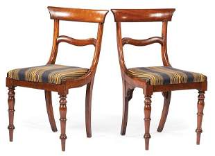 Six William IV Cherrywood Dining Chairs