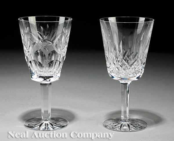 868: Group of Waterford Cut Crystal Goblets