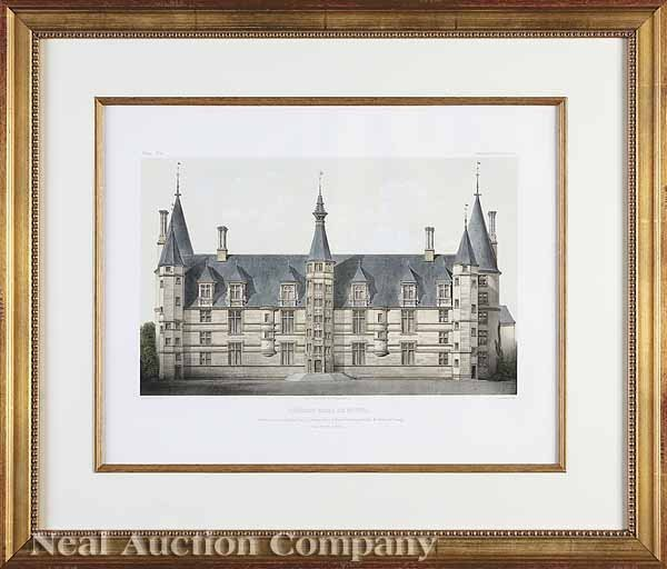 1144: Prints of French Chateaux, V. Jean Baptiste Petit