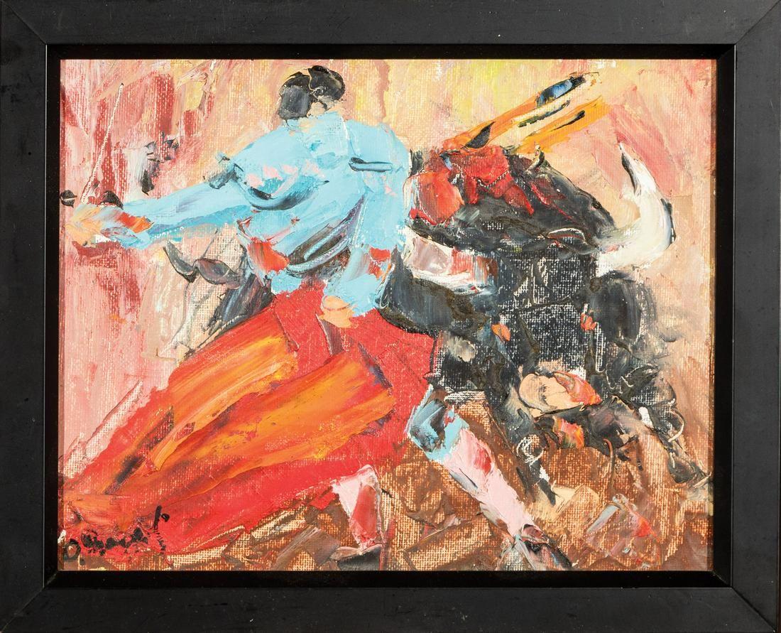 Decorative Paintings of Matadors