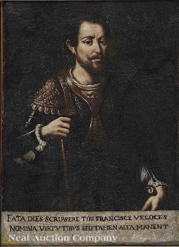 "0015: Portraits of ""Francesco Veloce"" ""General Gonzaga"""