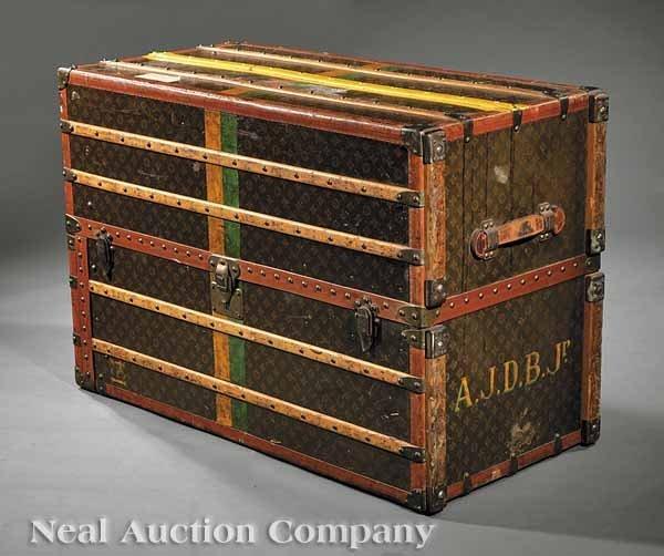 0112: A Louis Vuitton Steamer Trunk
