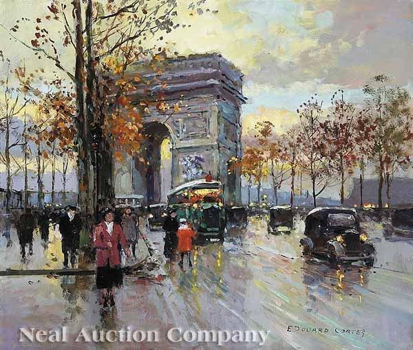 0269: Edouard Cortes (French, 1882-1969)