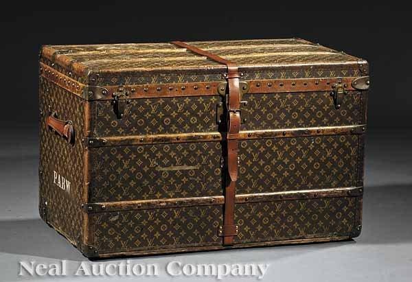 0673: A Louis Vuitton Steamer Trunk