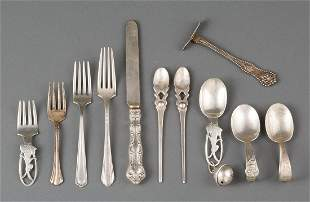 Sterling Silver Baby and Youth Flatware