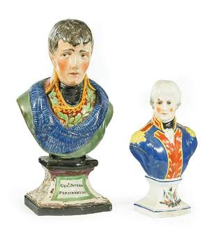 Staffordshire Bust of Andrew Jackson
