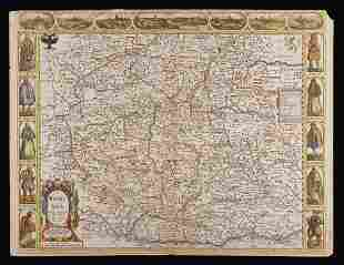 Three Antique Maps by John Speed