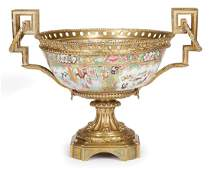 Chinese Export Famille Rose Porcelain Bowl
