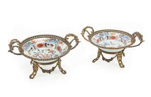 Chinese Imari Porcelain Small Bowls