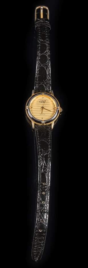 Cartier Vermeil Ladies' Wristwatch